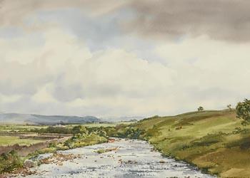 Frank J. Egginton, The Easky River, Co. Sligo at Morgan O'Driscoll Art Auctions
