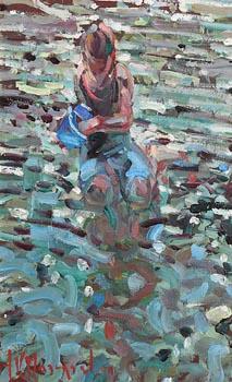 Arthur K. Maderson, Beach Study, Tramore at Morgan O'Driscoll Art Auctions