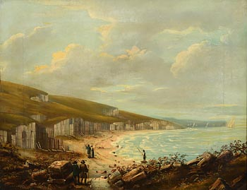 19th Century English School, Barrier of Posts at Morgan O'Driscoll Art Auctions