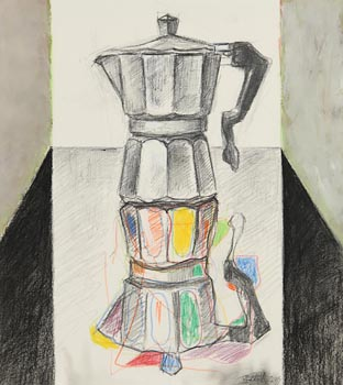 Mark (Rasher) Kavanagh, Italian Coffee Maker at Morgan O'Driscoll Art Auctions