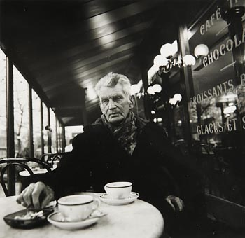 John Minihan, Samuel Beckett Photographed in Paris (1985) at Morgan O'Driscoll Art Auctions