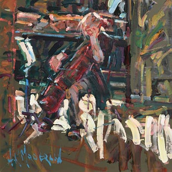 Arthur K. Maderson, Evening Practice at Morgan O'Driscoll Art Auctions