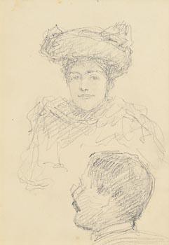 John Butler Yeats, Lady and Gentleman at Morgan O'Driscoll Art Auctions