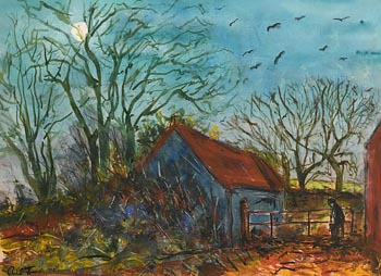 Philip French, Moon (1992) at Morgan O'Driscoll Art Auctions
