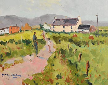 Henry Healy, The Way Home, Achill at Morgan O'Driscoll Art Auctions