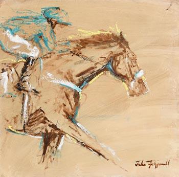 John Fitzgerald, Dash of Yellow at Morgan O'Driscoll Art Auctions