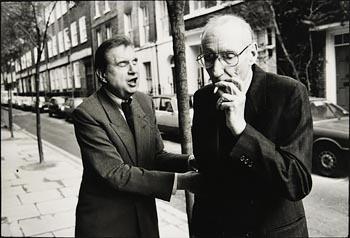 John Minihan, Francis Bacon and William Burroughs, London (1988) at Morgan O'Driscoll Art Auctions