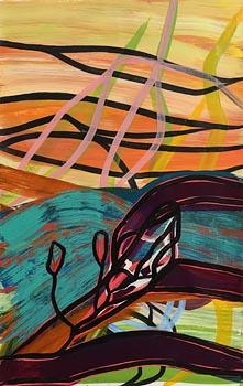 Nora van den Berg, Untitled (2017) at Morgan O'Driscoll Art Auctions