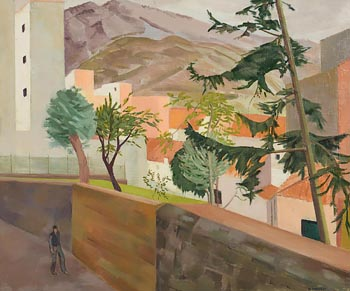Barbara Warren, Port de La Selva, Spain (1990) at Morgan O'Driscoll Art Auctions