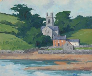 Brett McEntaggart, Church by the Sea at Morgan O'Driscoll Art Auctions