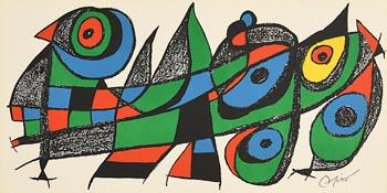 Joan Miro, Japan at Morgan O'Driscoll Art Auctions