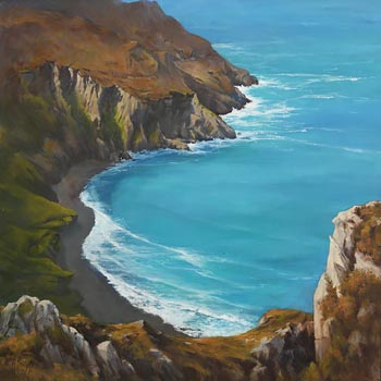Annemarie Bourke, Sauce Creek, Dingle at Morgan O'Driscoll Art Auctions