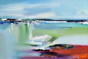 Majella O'Neill Collins, Beneath the Surface, Sherkin Sea at Morgan O'Driscoll Art Auctions
