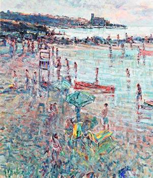 Arthur K. Maderson, Towards Lerici, Italy at Morgan O'Driscoll Art Auctions