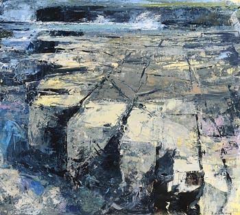 Donald Teskey, Coastline at Morgan O'Driscoll Art Auctions