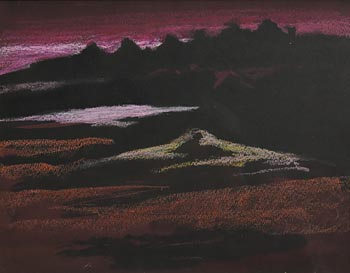 Arthur Armstrong, Western Landscape at Morgan O'Driscoll Art Auctions
