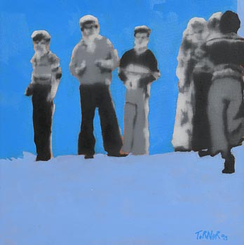 David Turner, Children of the Conflict I (2008) at Morgan O'Driscoll Art Auctions