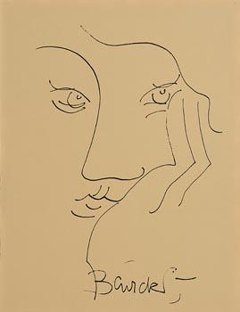 Pauline Bewick, Female Head at Morgan O'Driscoll Art Auctions