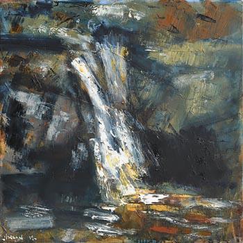 Henry Morgan, Waterfall Series at Morgan O'Driscoll Art Auctions