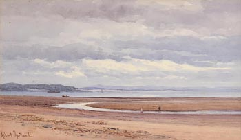 Henry Albert Hartland, Seascape at Morgan O'Driscoll Art Auctions