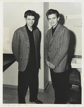 Lew Allen, The Everley Brothers, Rochester, New York (1958) at Morgan O'Driscoll Art Auctions