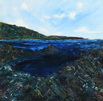 Declan Marry, Coastal Inlet at Morgan O'Driscoll Art Auctions