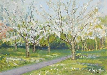 David Goldberg, Blossom, Farmleigh (2019) at Morgan O'Driscoll Art Auctions