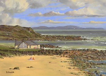 David Anthony Overend, Beach House, Portballintrae, Co. Antrim at Morgan O'Driscoll Art Auctions