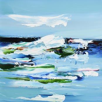 Majella O'Neill Collins, Seas, Sherkin Island (2020) at Morgan O'Driscoll Art Auctions