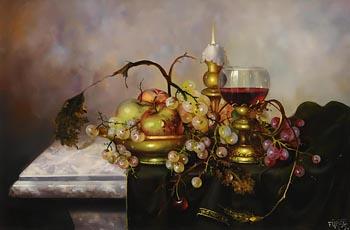 Joseph Furst, Still Life at Morgan O'Driscoll Art Auctions