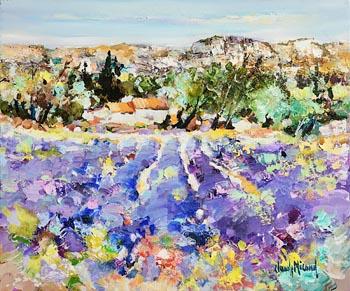 Claude Nicaud, Lavender Field at Morgan O'Driscoll Art Auctions