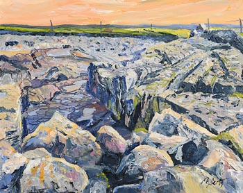 Dorothee Roberts, From the Pier, Doolin at Morgan O'Driscoll Art Auctions