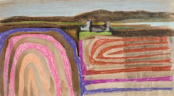 Arthur Armstrong, Landscape, West of Ireland at Morgan O'Driscoll Art Auctions