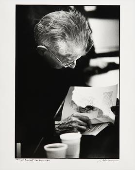 John Minihan, Samuel Beckett, Riverside Studio, London (1984) at Morgan O'Driscoll Art Auctions