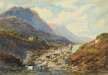 John Faulkner, Maamturk Mountains at Morgan O'Driscoll Art Auctions