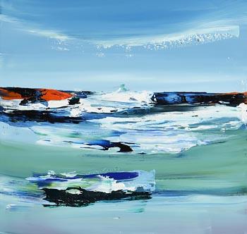 Majella O'Neill Collins, Seas, North of Sherkin Island (2020) at Morgan O'Driscoll Art Auctions