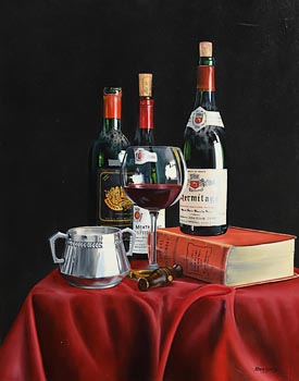 Peter Kotka, Classic French Wines at Morgan O'Driscoll Art Auctions