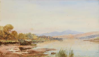 Alexander Williams, On the Barrow Near New Ross, Co. Wexford at Morgan O'Driscoll Art Auctions
