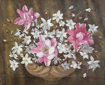 Desmond Courtney Kenny, Still Life with Flowers at Morgan O'Driscoll Art Auctions