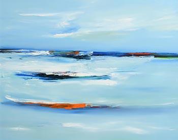 Majella O'Neill Collins, Before the Storm Sherkin (2016) at Morgan O'Driscoll Art Auctions