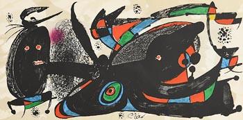 Joan Miro, England (1974) at Morgan O'Driscoll Art Auctions