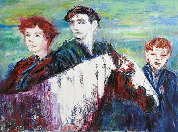 Declan O'Connor, Into the West at Morgan O'Driscoll Art Auctions