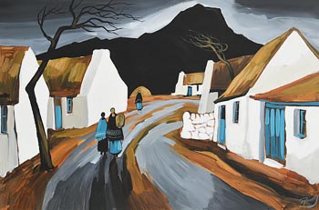 J.P. Rooney, Below the Black Mountain at Morgan O'Driscoll Art Auctions