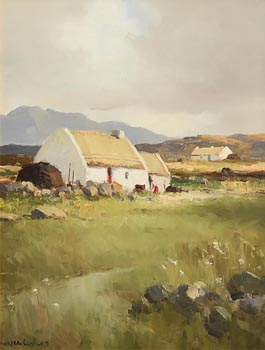 Maurice Canning Wilks, Landscape at Ballyconneely, Connemara at Morgan O'Driscoll Art Auctions