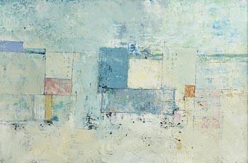 Michael Hales, Pale City, Pale Colours (2019) at Morgan O'Driscoll Art Auctions