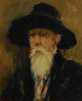 Ken Moroney, The Professor at Morgan O'Driscoll Art Auctions