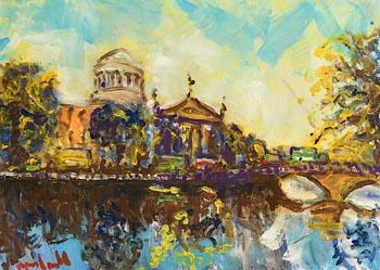 Marie Carroll, The Four Courts, Dublin at Morgan O'Driscoll Art Auctions