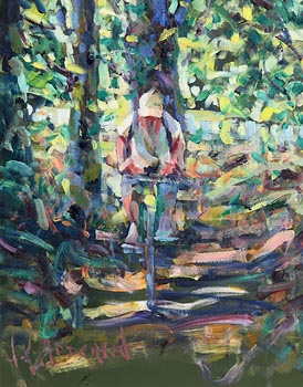 Arthur K. Maderson, The Towpath at Morgan O'Driscoll Art Auctions
