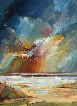 Douglas Hutton, Sunset West at Morgan O'Driscoll Art Auctions