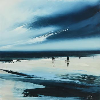 Paula McKinney, Moody Blue at Morgan O'Driscoll Art Auctions